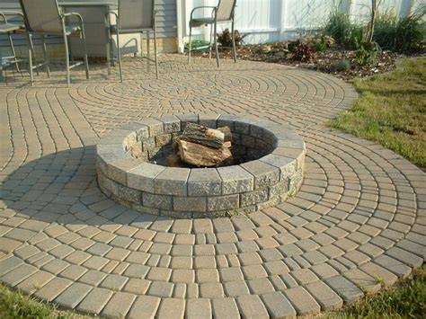 patio in set paver pit kit outdoor goods