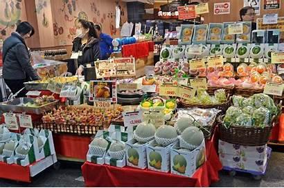 Market Kuromon Ichiba Osaka Japan Seafood Cater