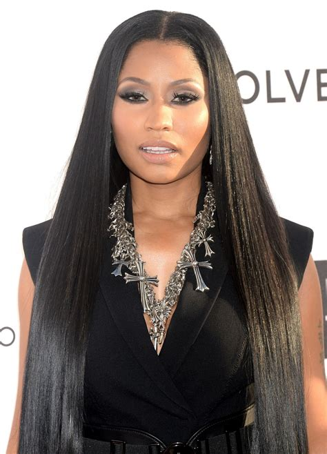 Nicki Minaj At Daily Front Rows Fashion Los Angeles