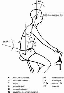 Schematic Diagram Of Body Joint Angles In A Cycling