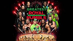 The Greatest Royal Rumble Card Includes IC Ladder Match ...