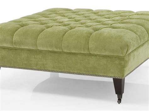large square tufted ottoman large round tufted ottoman home design ideas