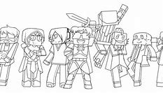 High Quality Images For Minecraft Youtuber Coloring Pages