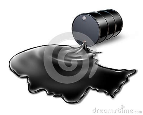 Oil Spill Health Risk Stock Illustration   Image: 39994686