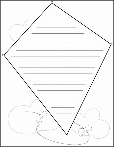 The Ends Of A Kite Template by 10 Kite Design Template For Kids Sletemplatess