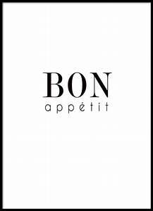 Poster Für Küche : poster mit der aufschrift bon appetit f r die k che ~ Watch28wear.com Haus und Dekorationen