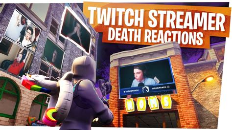 killing fortnite twitch streamers  reactions