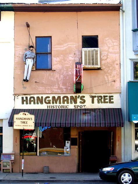 hangmans tree historic spot placerville california ca