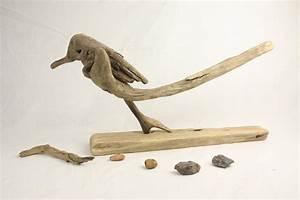Basteln Mit Treibholz : treibholz vogel bodensee skulptur vogel aus holz ~ Markanthonyermac.com Haus und Dekorationen