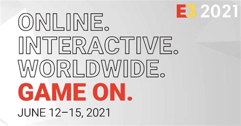 E3 2021 Schedule Announced: Timeline of Microsoft ...