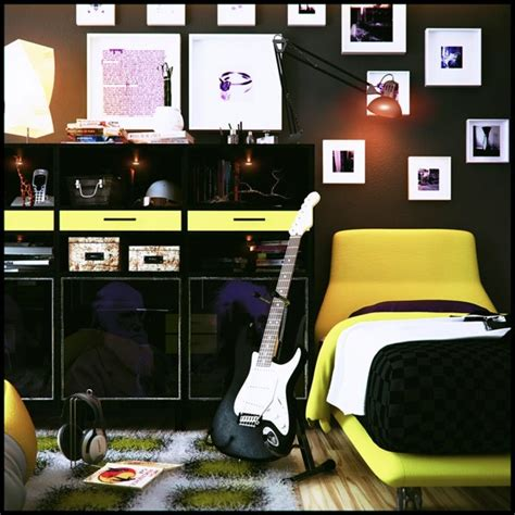 chambre ado gar輟n pas cher chambre ado design 35 idées que vos ados adorent