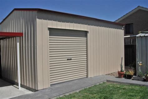Garages   Quality Steel Kits   Wide Span Sheds