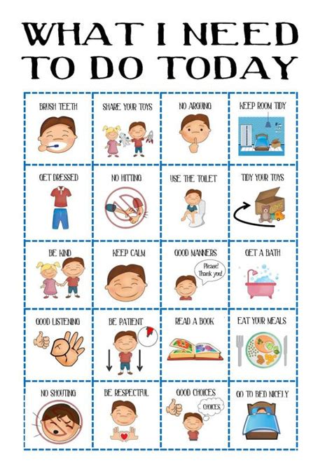 boys behaviour chart sale toddler routine chart visual aid     cases  ms  hs