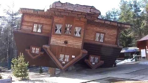 Upside Down House At Szymbark Park, Poland