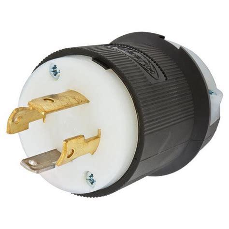 Hubbell Wiring Wire Pole Polarized Locking Plug