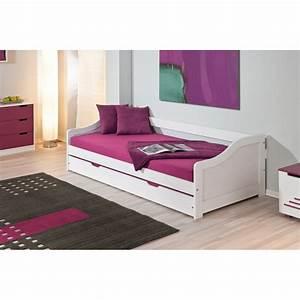 Bett 90 X 190 : barbara lit 90x190 gigogne ~ Lateststills.com Haus und Dekorationen