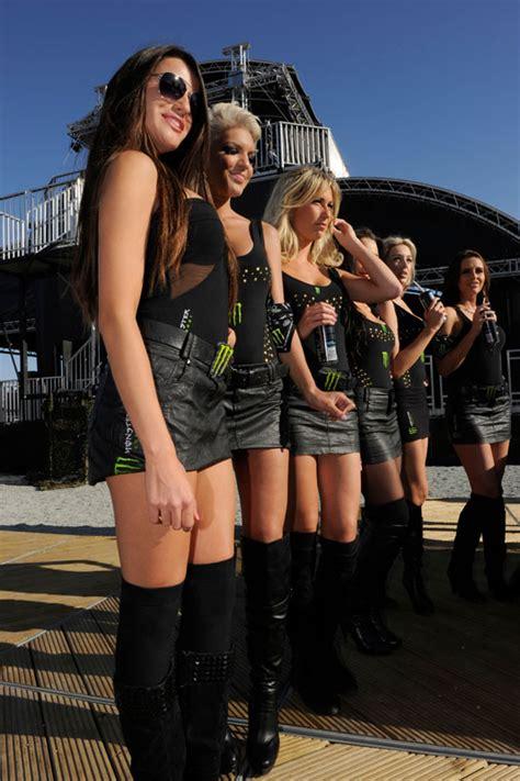motogp grid girl gallery monster party visordown