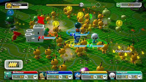 pokemon rumble  trailer shows  nfc figure  vg
