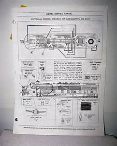 Lionel Service Manual Pictorial Wiring Diagram Of Toy