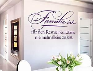 Tattoos Für Die Wand : wandtattoo familie family spr che ~ Articles-book.com Haus und Dekorationen