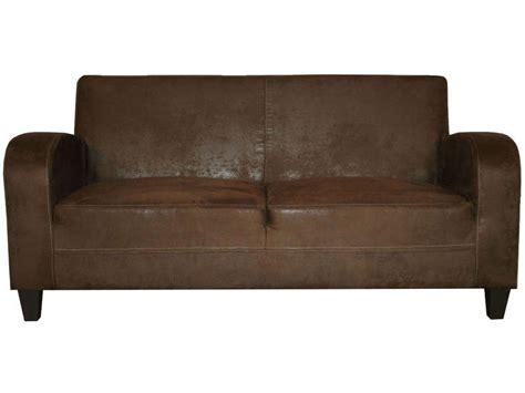 canapé marron conforama canapé fixe 3 places en tissu nany coloris marron vente
