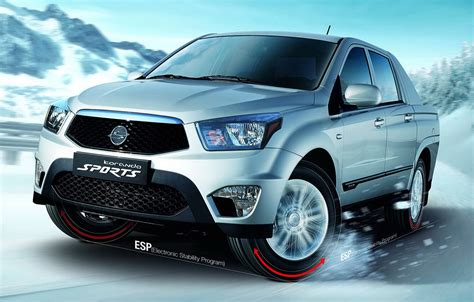 2018 Ssangyong Actyon Sports Car Photos Catalog 2018