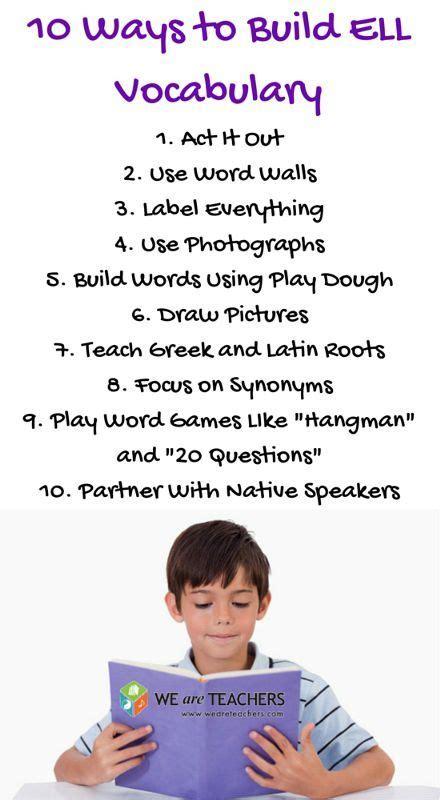 7 ways to use flashcards in language teaching best 25 teaching vocabulary ideas on pinterest