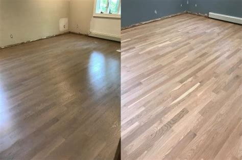 finish    natural  white oak floors