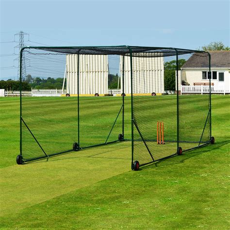 replacement net  fortress mobile cricket cage net world sports