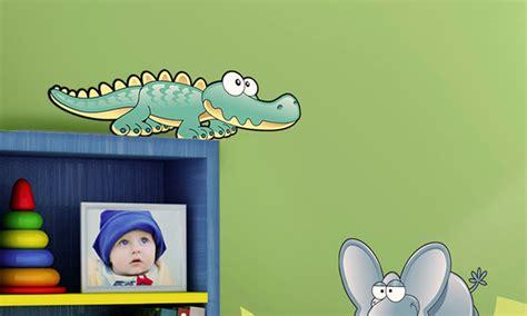 Stickers Per Camerette Bambini by Stickers Murali Bambini Cameretta Animali Della Savana