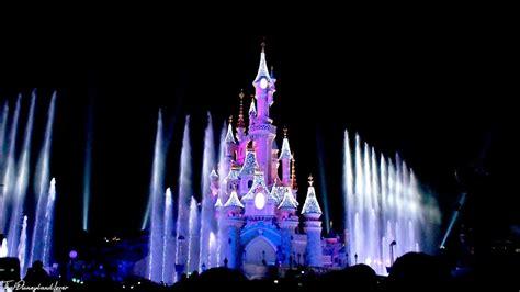 Disneyland Light Show by Disneyland Castle Lighting Show