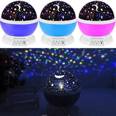 star fly star moon rotating projector night light new rotating star moon sky rotation night projector light