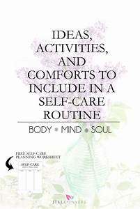 Creating a self... Care Plan Quotes