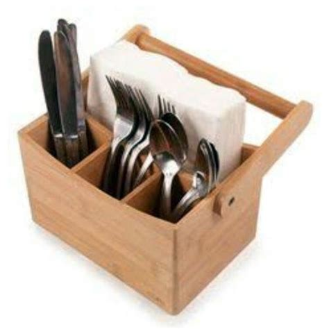 wooden cutlery holder  rs  piece spoon holder