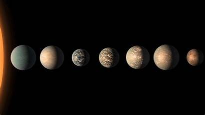 Planet Trappist Lineup System Nasa Jpl Space