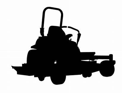 Mower Zero Turn Lawn Clipart Riding Clip