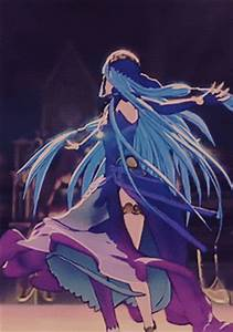 Fire Emblem 2015 3DS Blue Haired Girl GIF Animation