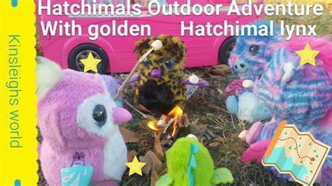 Hatchimal Golden Lynx Adventure With Hatchimals Surprise