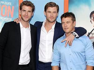 Liam and Luke Hemsworth Support Brother Chris at Vacation ...