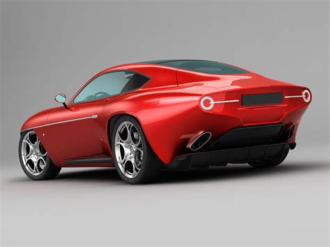 Alfa Romeo Disco Volante 2013 Alfa Romeo Disco Volante Touring 2013 3d Model Max