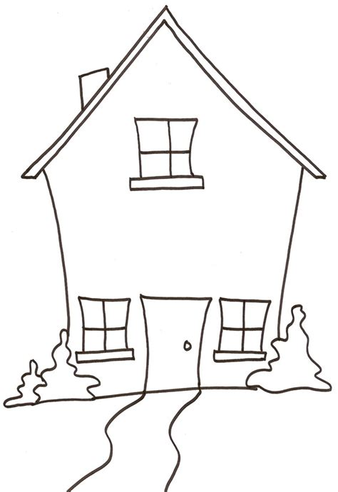 maison dessin 224 colorier