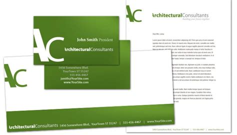 letterhead template  architect engineering firm order