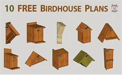 Birdhouse Plans Diy Simple Designs Bird Wood