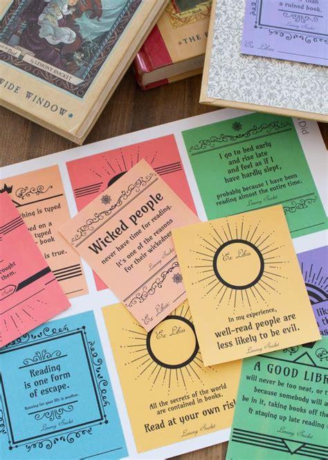series  unfortunate   printable bookplates