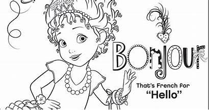 Nancy Fancy Coloring Pages Disney Junior Activity