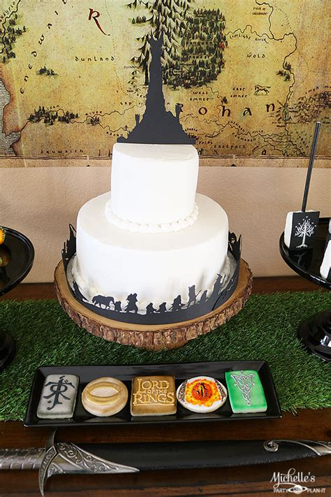 lord   rings theme birthday party ideas