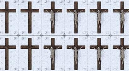 Cross Jesus Richter Dennis Crucifix Notes Humour