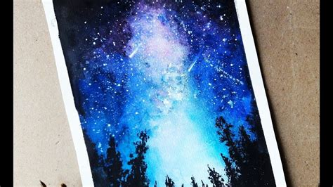 Image Result For Beautiful Watercolor Paintings Galaxy