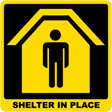 Hurricane Evacuation Shelter Sign