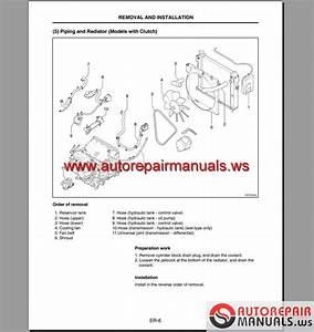Keygen Autorepairmanuals Ws  Nissan Forklift L01 And L02